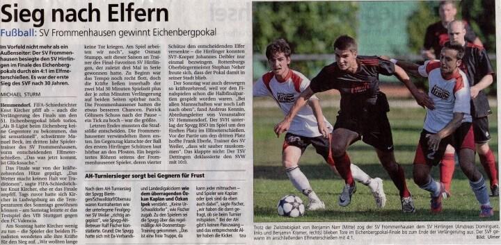 Eichenberg-Pokalturnier 2013