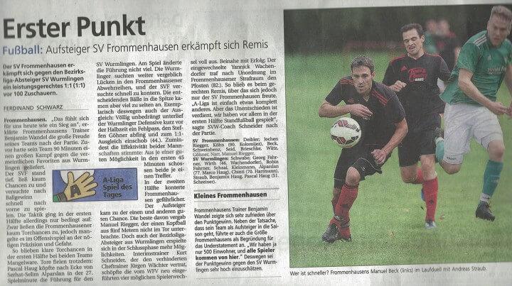 Schwäbisches Tagblatt 24.08.2015