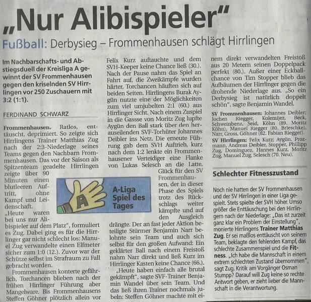 Schwäbiesches Tagblatt 02.11.2015