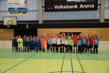 Siegerehrung Stadtpokal Rottenburg D-Junioren