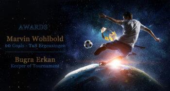 Stadtpokal 2017 Torschützenkönig Marvin Wohlbold